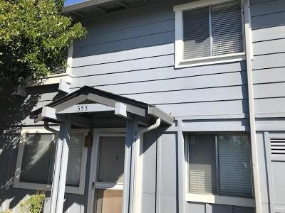SAN JOSE Townhouse For Sale: 555 Groth Pl
