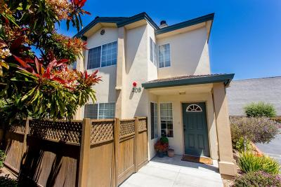SALINAS Townhouse For Sale: 208 Martella St