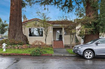 Mountain View Single Family Home For Sale: 1107 High School Way
