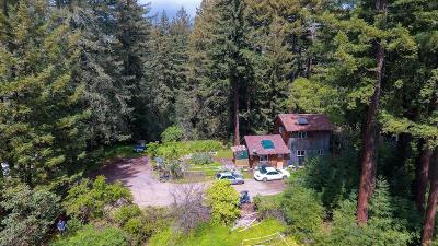 APTOS Single Family Home For Sale: 6121 Fern Flat Rd