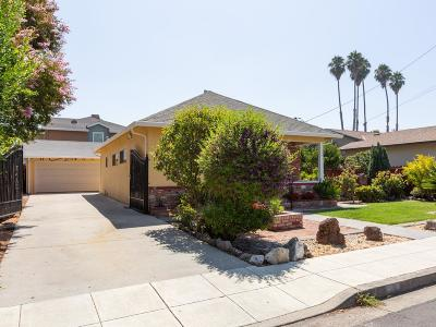 Mountain View Single Family Home For Sale: 201 Granada Dr