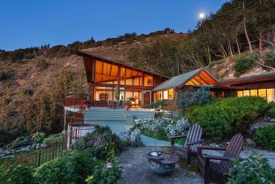 Big Sur Single Family Home For Sale: 29141 Plaskett Ridge Rd