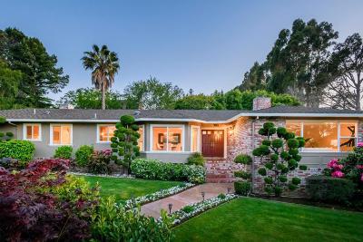Hillsborough Single Family Home For Sale: 980 Woodland Dr