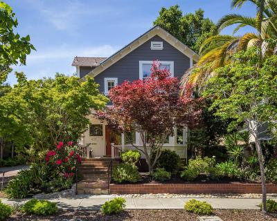 Palo Alto Single Family Home For Sale: 633 Channing Ave