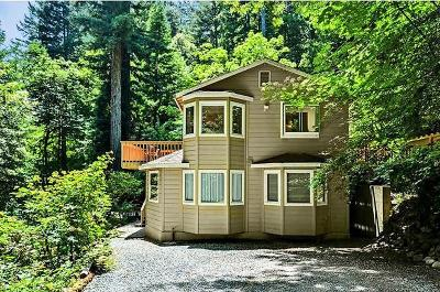 Santa Cruz County Single Family Home For Sale: 846 Browns Valley Rd