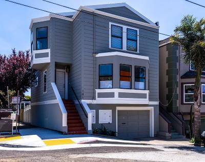 SAN FRANCISCO Single Family Home For Sale: 101 Bache St
