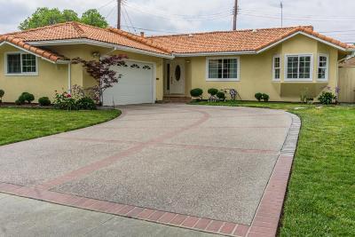 SANTA CLARA Single Family Home For Sale: 2954 Miles Dr