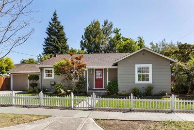 Mountain View Single Family Home For Sale: 1575 Mercy St