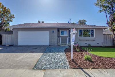 Sunnyvale Single Family Home For Sale: 1595 S Wolfe Rd