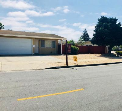 Watsonville Single Family Home For Sale: 631 Bronte Ave