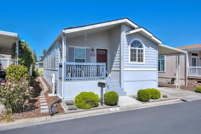 MOUNTAIN VIEW Mobile Home For Sale: 433 Sylvan Ave 115