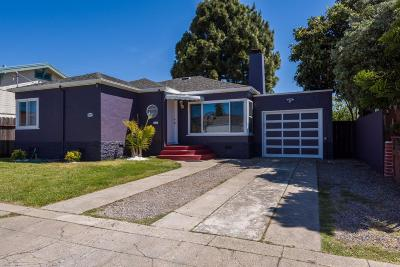 San Bruno Single Family Home For Sale: 744 Green Ave