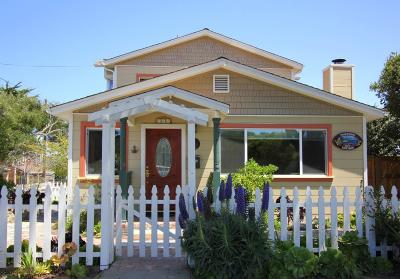 Pacific Grove Single Family Home For Sale: 748 Pine Ave