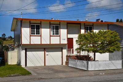 Pacifica Single Family Home For Sale: 1145 Banyan Way