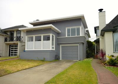 DALY CITY CA Single Family Home For Sale: $1,429,000