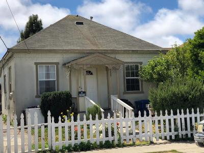 Santa Cruz County Single Family Home For Sale: 237 Locust St