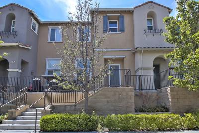 Santa Clara Townhouse For Sale: 4510 Saint Palais Pl