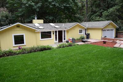 SCOTTS VALLEY Single Family Home For Sale: 2300 Lockhart Gulch Rd