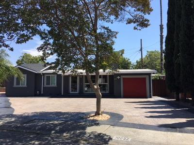 San Jose Single Family Home For Sale: 10052 Endfield Way