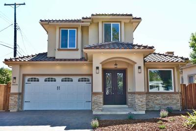 Cupertino Single Family Home For Sale: 10636 Wunderlich Dr