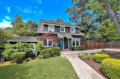 SARATOGA Single Family Home For Sale: 20331 Orchard Rd