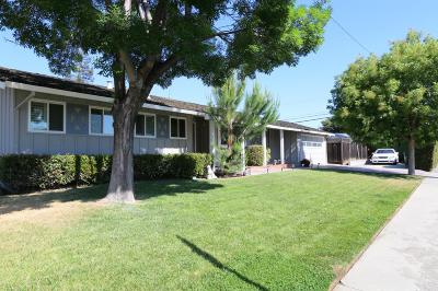 SANTA CLARA Single Family Home For Sale: 208 Cronin Dr