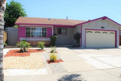 SAN JOSE Single Family Home For Sale: 1618 Leeward Dr
