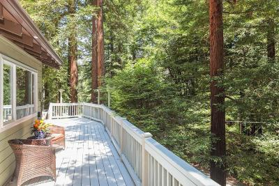 Scotts Valley Single Family Home For Sale: 125 Shake Tree Ln