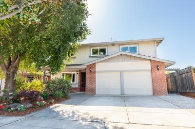 SUNNYVALE Single Family Home For Sale: 775 San Diego Ave
