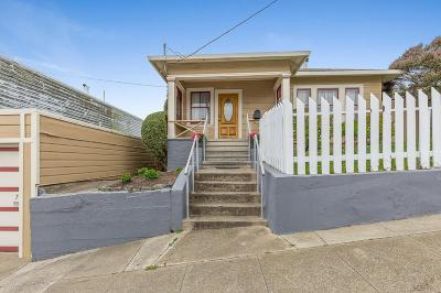 SAN FRANCISCO Single Family Home Contingent: 733 Capitol Ave