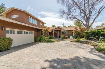 PALO ALTO Single Family Home For Sale: 124 Lundy Ln