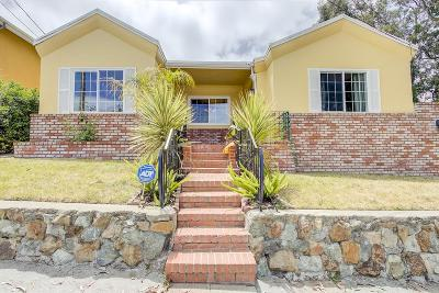 SAN BRUNO Single Family Home Contingent: 565 Chestnut Ave