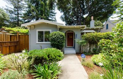 Palo Alto Single Family Home For Sale: 128 Middlefield Rd
