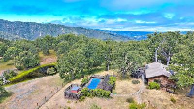 Carmel Valley Single Family Home For Sale: 23450 Lambert Flat Rd