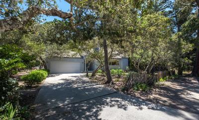 Carmel Single Family Home For Sale: 24715 Cabrillo St