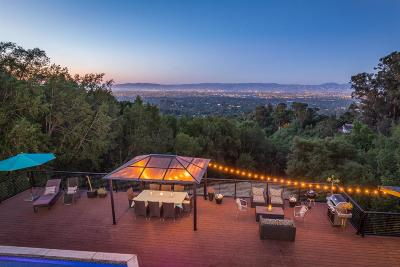LOS GATOS Single Family Home For Sale: 19051 Overlook Rd