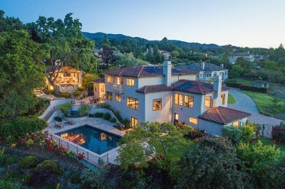 LOS ALTOS HILLS Single Family Home For Sale: 24040 Oak Knoll Cir