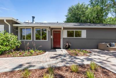 PALO ALTO Single Family Home For Sale: 2997 Louis Rd