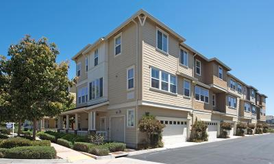 Redwood Shores Townhouse For Sale: 303 Satuma Dr