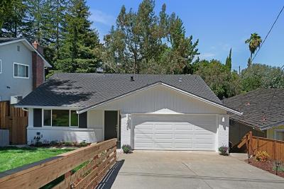 SAN CARLOS Single Family Home For Sale: 1049 Sunset Dr
