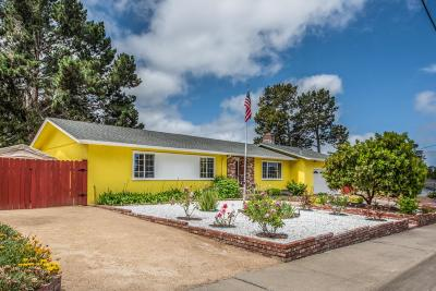MONTEREY CA Single Family Home For Sale: $875,000