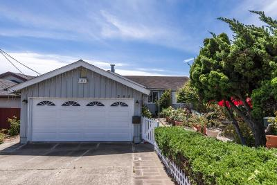 South San Francisco Single Family Home For Sale: 345 Arroyo Dr