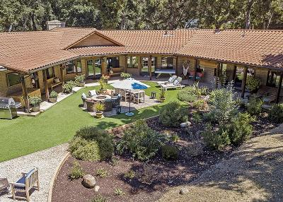 Carmel Valley Single Family Home For Sale: 2 Sleepy Hollow Dr