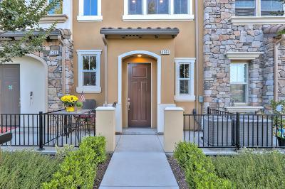 MILPITAS Townhouse For Sale: 1361 Merry Loop