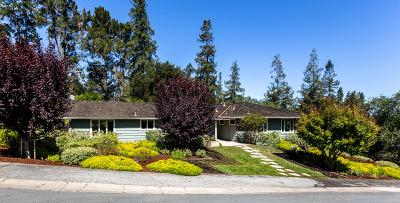 MENLO PARK Single Family Home For Sale: 19 Shasta Ln