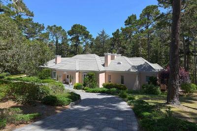 Pebble Beach Single Family Home For Sale: 1277 Lisbon Ln