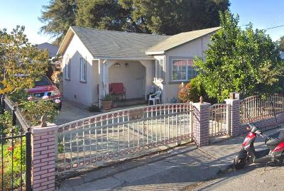 East Palo Alto Single Family Home For Sale: 1219 Jervis Ave