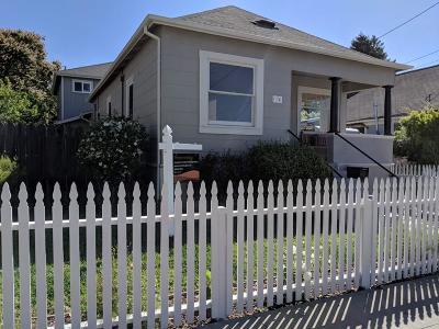 SANTA CRUZ CA Single Family Home For Sale: $1,249,000
