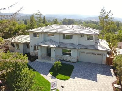 Cupertino Single Family Home For Sale: 21912 Gardenview Ln