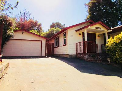 SALINAS Single Family Home For Sale: 7512 Tustin Rd